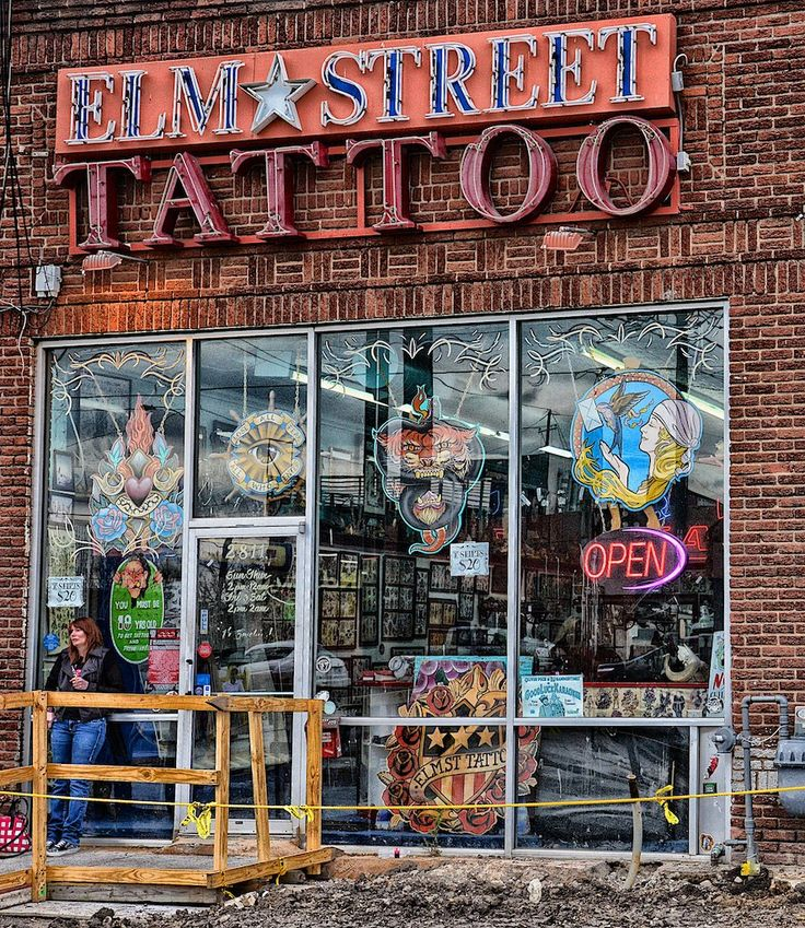 Elm Street Tattoo Shop (2014)
