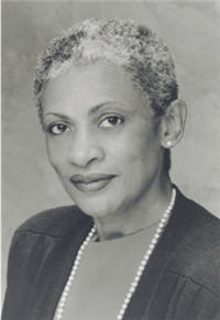 Delores E. Cross (1938 - ) became the First woman president of historically black Morris Brown College 1999 - and first woman president of Chicago State University, 1990. She received a B.S., Seton Hall University, 1963; M.S., Hofstra University,1968; Ph.D., University of Michigan, 1971.