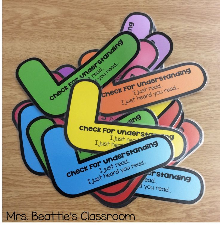 Free Check for Understanding resource at Mrs. Beattie's Classroom! Part of A Year of Awesome blog series!