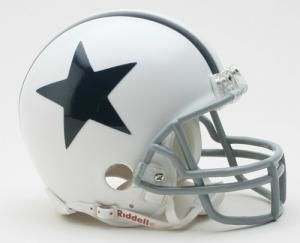Dallas Cowboys Helmet Riddell Replica Mini VSR4 Style 1960-1963 Throwback