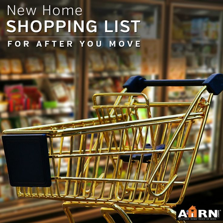 Even though military families are pros at packing up their homes and moving, that first shopping trip foryour new placecan be a tricky one! Restocking your kitchen and cleaning supplies can be both overwhelming and expensive. Start with the essentials on AHRN.com's Post-PCS Shopping List! As you prepare to PCS, you'll slowly start using up [...]