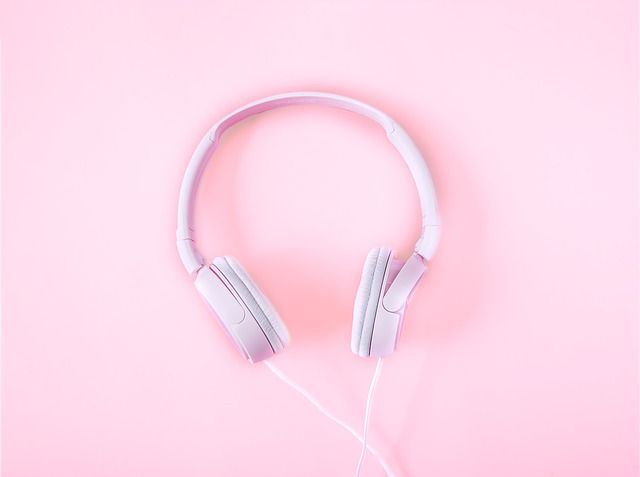 Imagem gratis no Pixabay - Fones De Ouvido, Música, Fundo Rosa