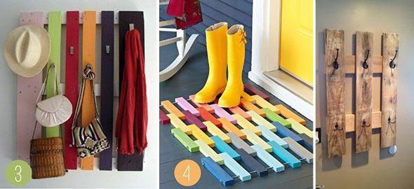 Πώς να διακοσμήσετε το σπίτι με παλέτες!
