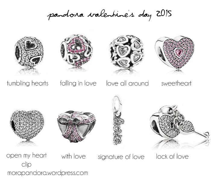 Preview: Pandora Valentineu0027s Day 2015 Collection