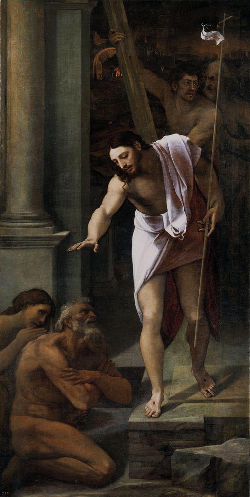 Sebastiano del Piombo - Cristo al Limbo - 1516