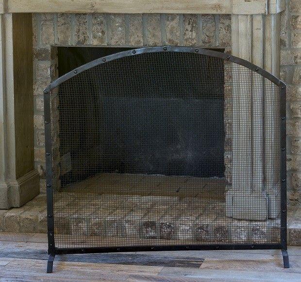 Metal Fireplace Screens   Rustic Fireplace Screens   Decorative Fireplace Screens