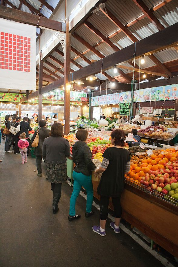 Freemantle markets in Perth, Western Australia