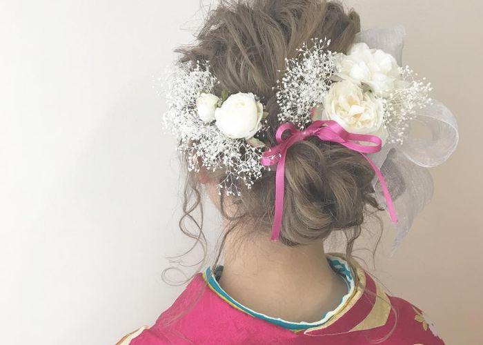 花嫁ヘアアレンジの参考になる卒業式ヘアの髪型まとめ