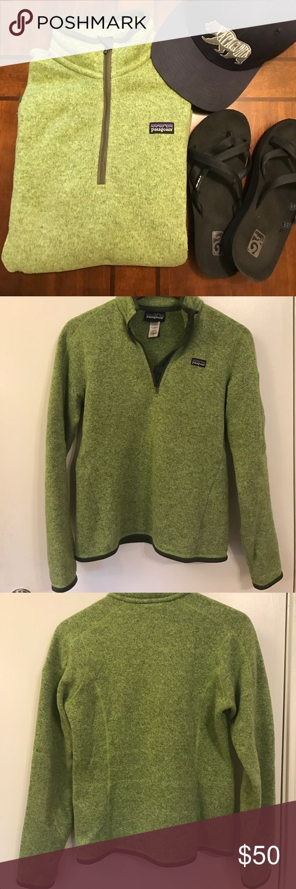 Selling this Patagonia Better Sweater 1/4 zip on Poshmark! My username is: meglalonde22. #shopmycloset #poshmark #fashion #shopping #style #forsale #Patagonia #Sweaters