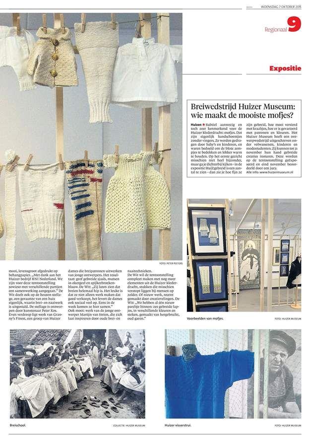 Digikrant De Gooi- en Eemlander Reader, tentoontstelling Huizer museum. www.huizermuseum.nl