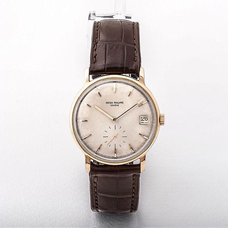1965 18ct Gold Patek Philippe Watch
