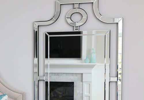 Master bedroom mirrors and a recent favorite store
