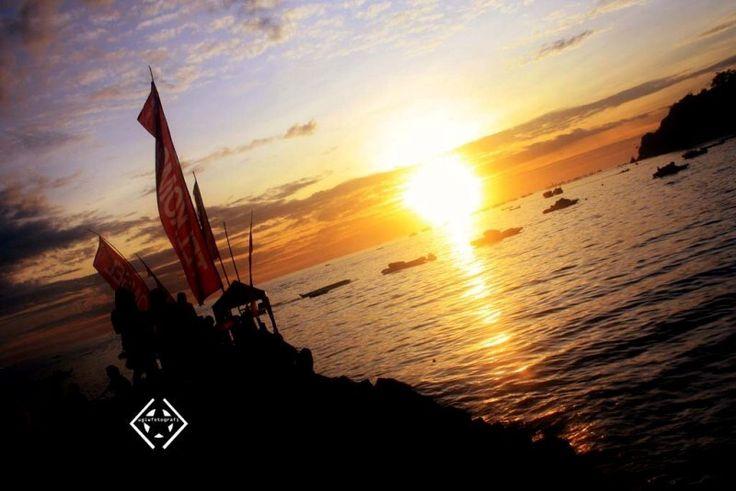 20deegres sunrise .. say hello word im wake up ^^