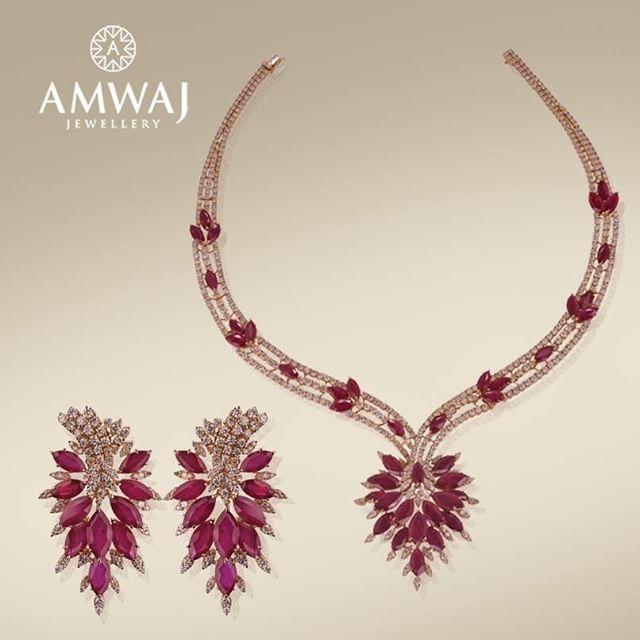 We continue to be dazzled with July's birthstone...the fabulous ruby نواصل معكم تألق حجر الروبي والخاص بمواليد شهر يوليو #ramadan #trendy #summer #jewelry #middleeast #beauty #luxury #uae #abudhabi #ksa #love #diamonds #wow #beautiful #happy #july #family #women #pearls #dubai #style #jewelry #model #gift #heart #vip #bahrain