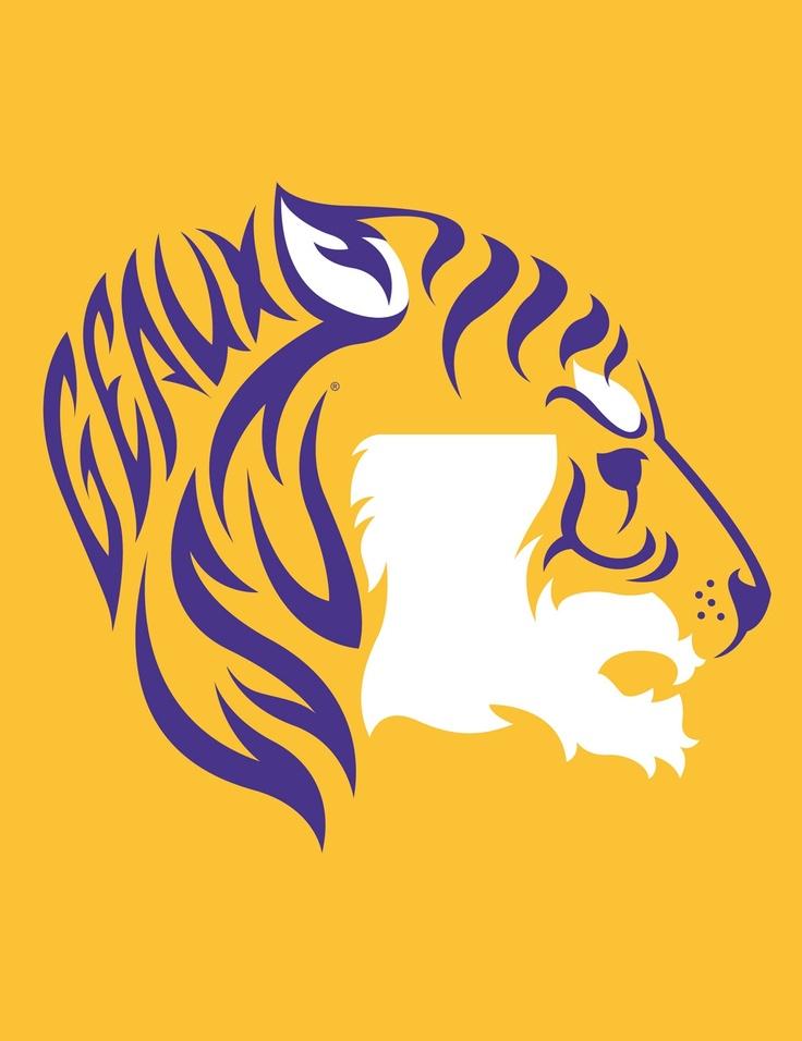 LSU Tiger - Gold