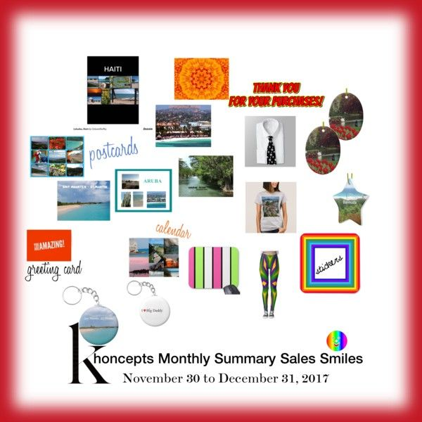 Khoncepts Monthly Summary Sales Smiles to 12-31-2017