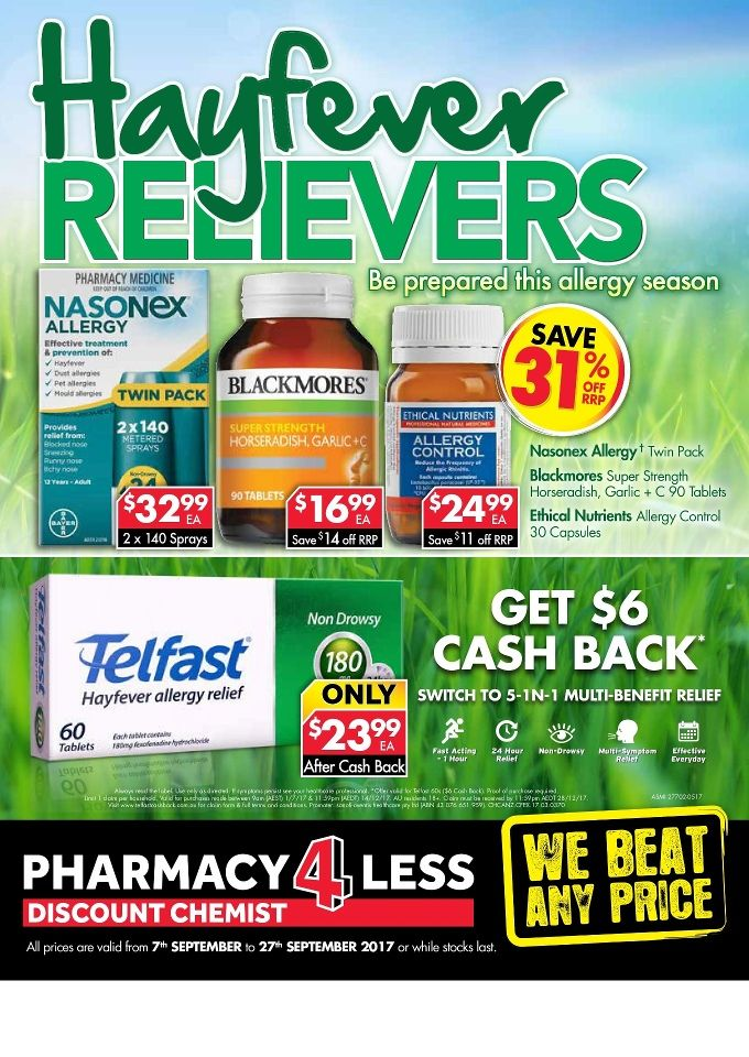 Pharmacy4Less Catalogue 7 - 27 September 2017 - http://olcatalogue.com/p4l/pharmacy4less-catalogue.html