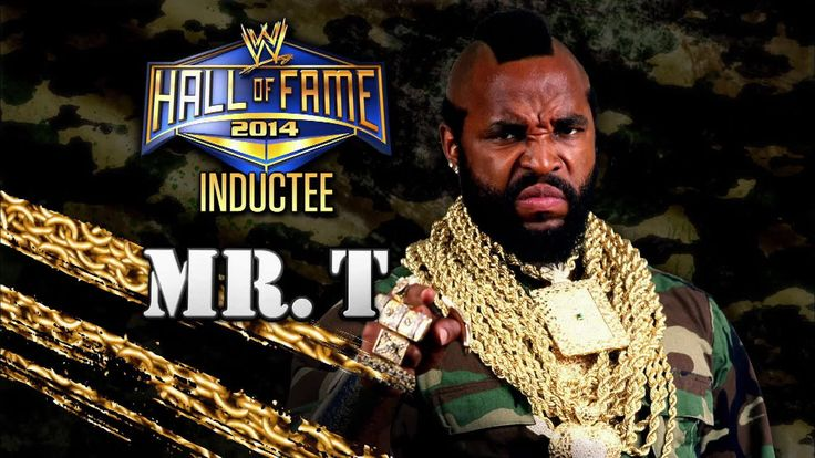 2014 WWE Hall of Fame Inductee: Mr. T: Raw, March 17, 2014