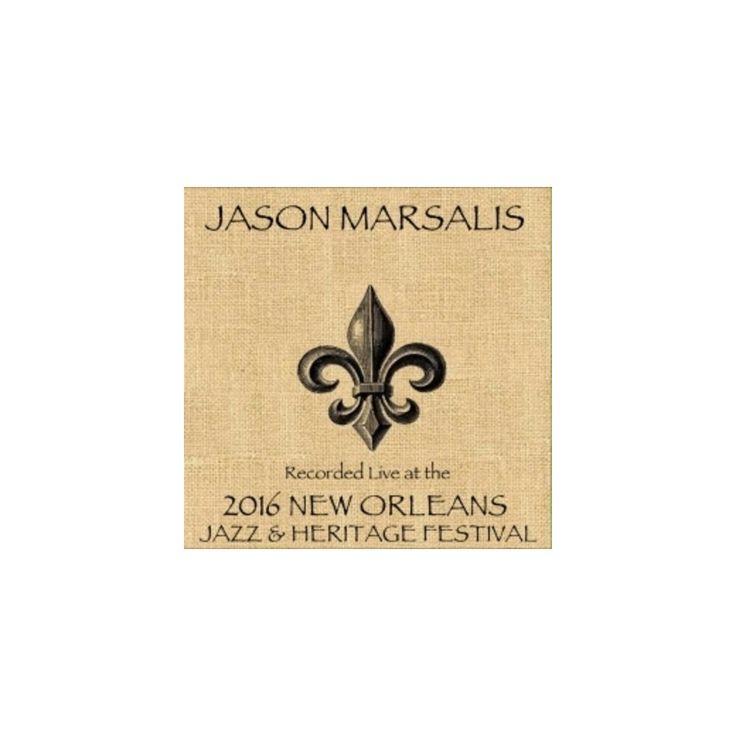 Jason Marsalis - Live at Jazzfest 2016 (CD)