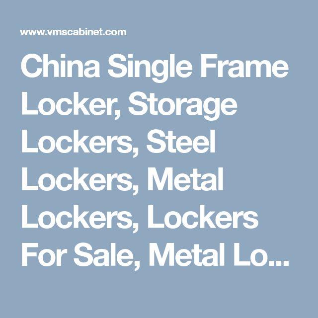 China Single Frame Locker, Storage Lockers, Steel Lockers, Metal Lockers, Lockers For Sale, Metal Locker For Sale,  Henan Vimasun Industry Co.,Ltd.