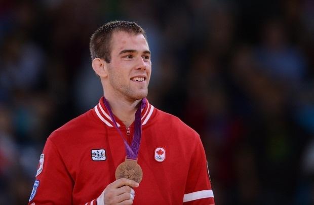 Bronze Medalist: Antoine Valois-Fortier Men's 81 kg Judo