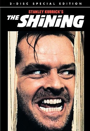 The Shining [PN1997 .S556 2007] A family heads to an isolated hotel for the winter where an evil and spiritual presence influences the father into violence, while his psychic son sees horrific forebodings from the past and of the future. Director:Stanley Kubrick Writers:Stephen King (novel), Stanley Kubrick (screenplay), Stars:Jack Nicholson, Shelley Duvall, Danny Lloyd