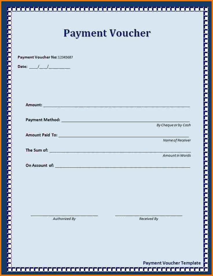 The 25+ best Voucher template word ideas on Pinterest Gift - cash receipt format word