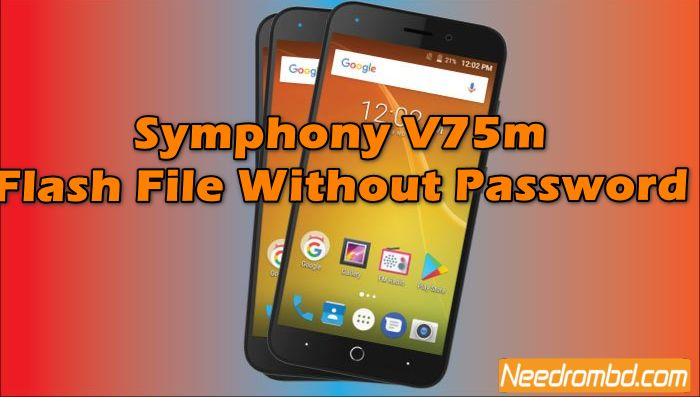 Symphony V75m Flash File Without Password | Smartphone