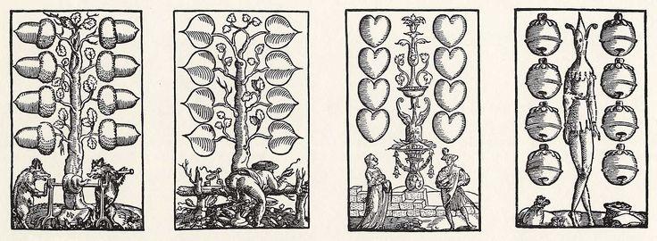 Artist: Flötner, Peter, Title: »Kartenspiel«, Achter, Date: ca. 1535