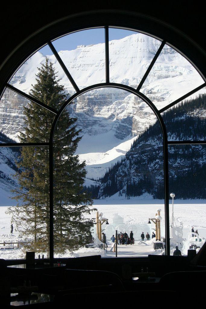 Lake Louise from the Chateau