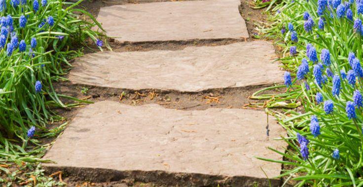 71 best images about garden path ideas vialetti camminamenti da giardino idee on pinterest - Pietre camminamento giardino ...