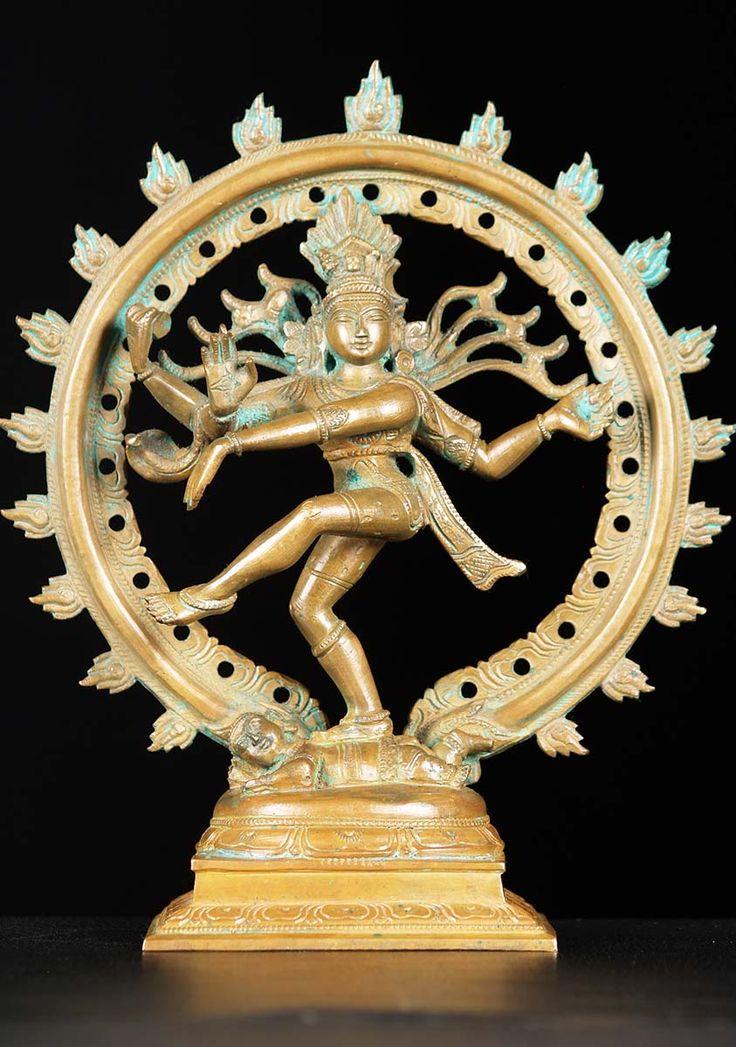 """View the Bronze Nataraja Statue 9"""""""