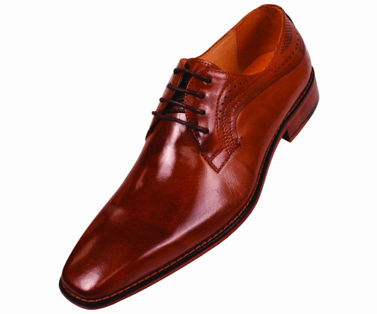 Oxford Real Leather Shoe Plain