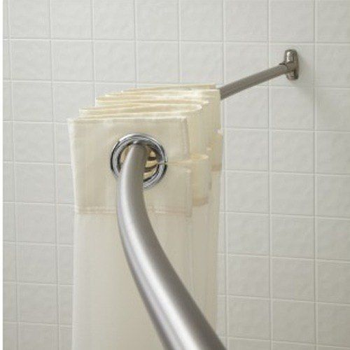 Crescent Suite B60bs6 5 Stainless Steel Curved Shower Curtain Rod