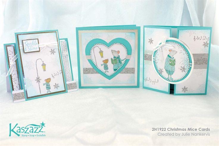 2H1922 Christmas Mice Cards