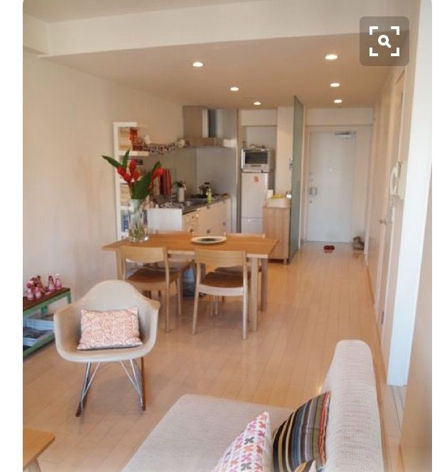 Open plan living - bright