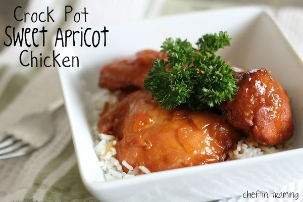 SWEET APRICOT CHICKEN dinner-ready | Foodstuff i love | Pinterest