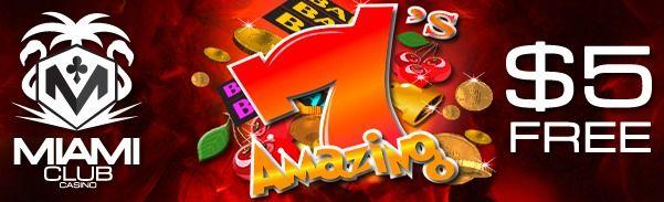 Brand new WGS Slot Amazing 7's, Claim $5 free now! ...