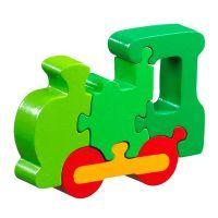 Wooden Puzzle Locomotive. Beautiful. toys4mykids.com