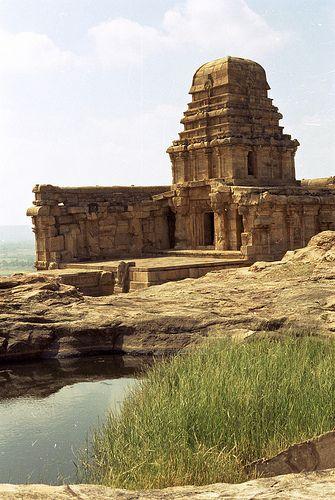 badami - fort -  upper shivalaya temple