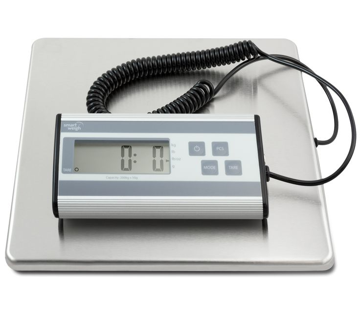 Smart Weigh 440lbs x 6oz USPS Digital Shipping Postal Scale Heavy Duty Steel #Business #Industrial #Material #Handling #ACE200