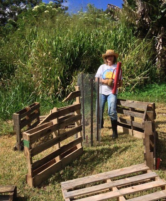 Homesteading in Hawaii: African Keyhole Garden - Step 1