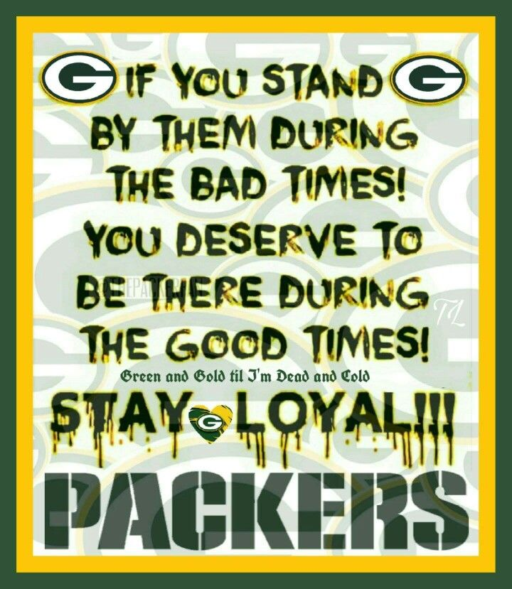 Green bay packers!                                                                                                                                                                                 More