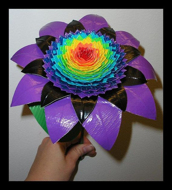 232 best images about duck tape designs on pinterest for Craft ideas with duct tape
