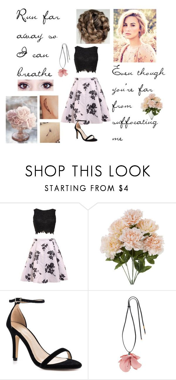 """Catch Me - Demi Lovato"" by ballerinahippie on Polyvore featuring Pink Paradox London and Marni"