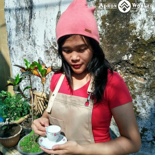 every coffee have his own taste like our life, life is has a special taste. Apron by @apron_worker please check our account instagram @apron_worker for more picture