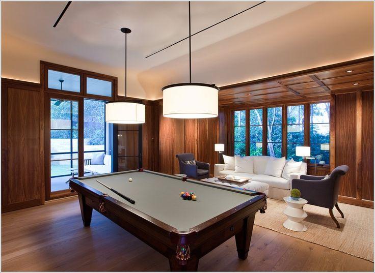 ... Equipamentos De Iluminação, Para Iluminação, Piscinas Modernas, Modern  Pool Table Lights, Client Mcd, Basement Client, Traditional Ceiling Lighting,  ...