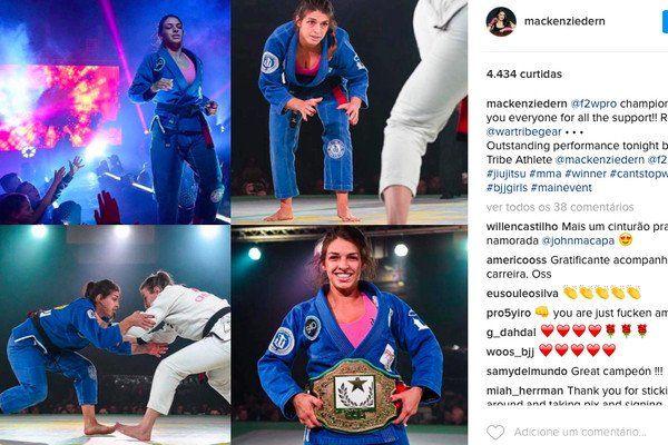 Mackenzie Dern confirma boa fase e fatura mais um campeonato de jiu-jitsu - http://anoticiadodia.com/mackenzie-dern-confirma-boa-fase-e-fatura-mais-um-campeonato-de-jiu-jitsu/