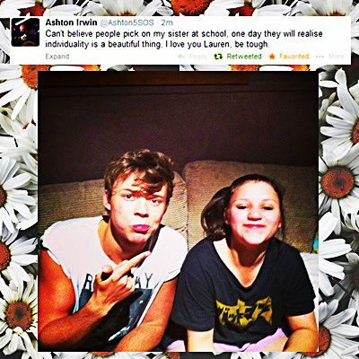 Ashton cares so much though, and it makes me sad that others care so little. Stay strong Lauren the 5sosfam loves you<3 pin it if you agree