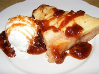 Rustic Apple Tart with Caramel Sauce | Let's Give Thanks...Thanksgivi ...